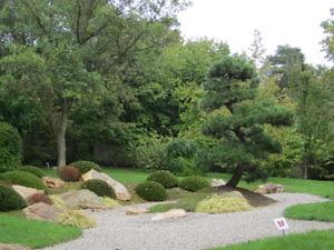 Японский сад Пражского Ботанического сада